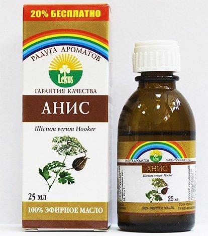 Анисовое масло против вшей